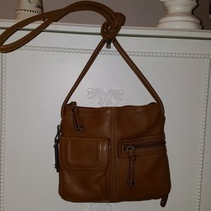 NWOT Tignanello Crossbody Leather bag brown